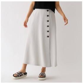 【アクアガール/aquagirl】 ドライタッチボタンラップスカート