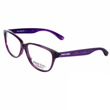 Anna Sui安娜蘇日本Dolly Girl系列光學眼鏡水鑽百搭款‧紫【DG509718】