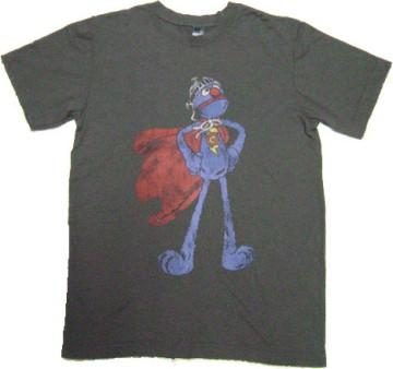 Cookie momster superman美式進口卡通短T/Anvil/Hanes/Gildan/T-shirt.Com
