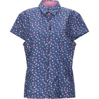 《セール開催中》VAN LAACK レディース シャツ ブルー 46 コットン 100%
