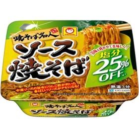 マルちゃん 焼そば名人 塩分オフ ソース焼そば (115g12個入)
