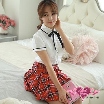【天使霓裳】韓系學生襯衫短裙制服角色扮演服