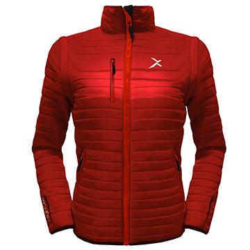 UV-2W變色龍保暖外套 葉紅