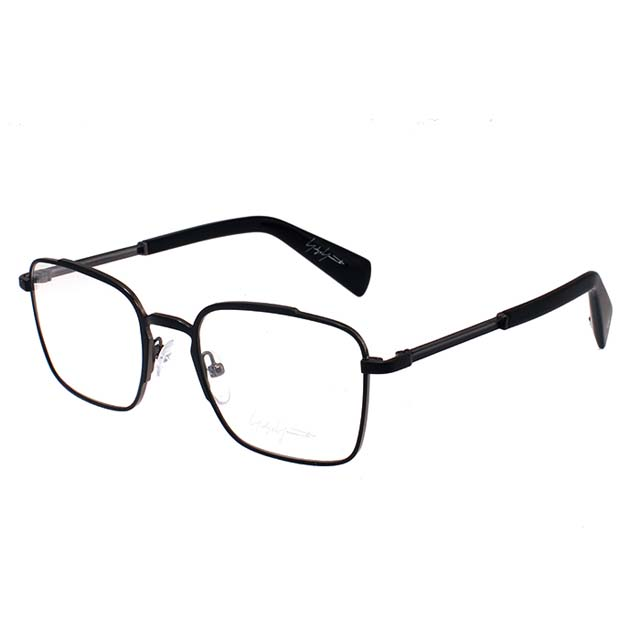 Yohji Yamamoto 山本耀司 方型時尚光學眼鏡-霧黑-YY3006-002