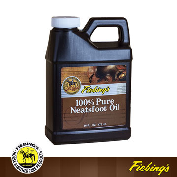 【鞋之潔】美國菲繽FIEBING100%純牛腳油 16盎司 皮革的天然柔軟防護油