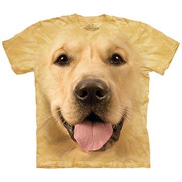 美國進口The Mountain 大黃金獵犬臉 純棉環保短袖T恤