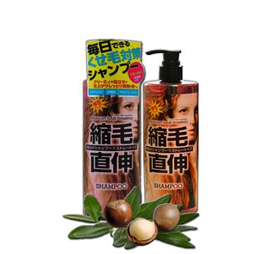 Manis馬尼斯-日本捲毛對策洗髮精450ml/瓶x2