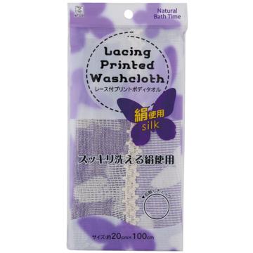 日本 小久保KOKUBO-天然洗背沐浴巾-絹(3289)