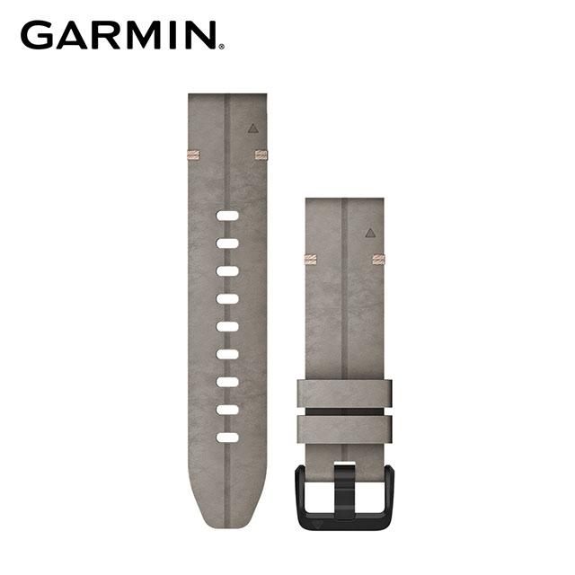 GARMIN QUICKFIT 20mm 岩灰麂皮錶帶