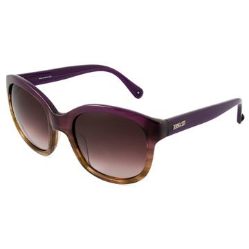 Anna Sui 安娜蘇時尚優雅石紋理太陽眼鏡(紫) AS823-700