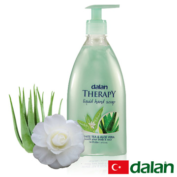 【土耳其dalan】白茶&蘆薈健康洗手乳 400ml