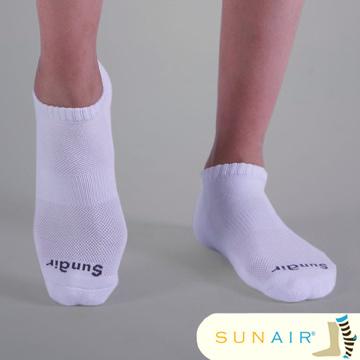 sunair 滅菌除臭襪子-標準型運動船襪 (L25~29)/SA1903