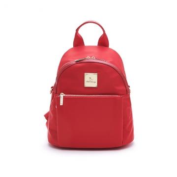 B.S.D.S冰山袋鼠 微醺小調 簡約美型手提後背包 薔薇紅 H006A-R