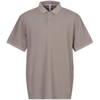 《セール開催中》SUN 68 メンズ ポロシャツ ライトブラウン S コットン 100%