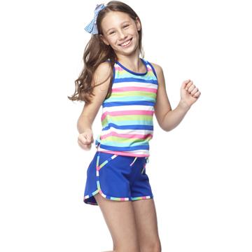 【SARBIS】MIT中童兩件式泳裝附泳帽B82415