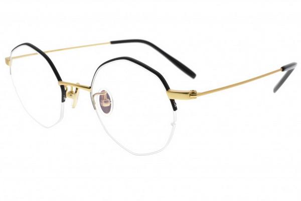 【NINE ACCORD】韓國設計 復古懷舊新時尚 光學眼鏡鏡框 TI LIVY C1