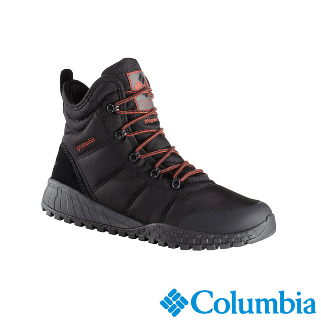 Columbia哥倫比亞 男款-OT防水保暖雪靴-黑色 UBM28060BK