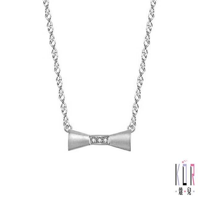 K'OR蔻兒 少女時代鑽石/K金項鍊