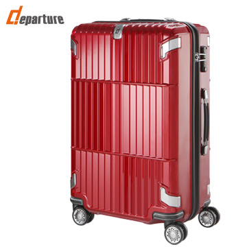 【departure旅行趣 】Sant' Andrea亮面 31吋 珠光紅 硬殼箱 (HD502-313)