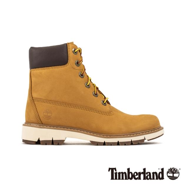 Timberland 女款小麥色磨砂革防水靴|A1T6U231