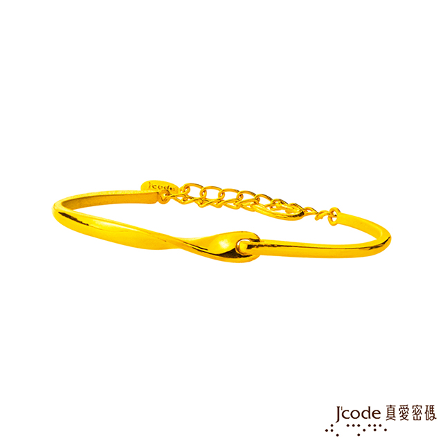 J'code真愛密碼  交心黃金手環