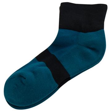 【KEROPPA】可諾帕無痕足弓運動機能女襪x2雙C98008土耳其藍