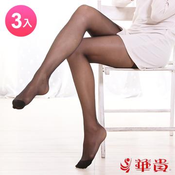 華貴 透薄呼吸 貼身超彈性S~XL絲襪(3入)