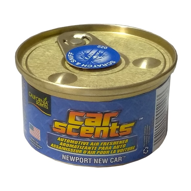 California Scents加州淨香草室內芳香罐-新車味香