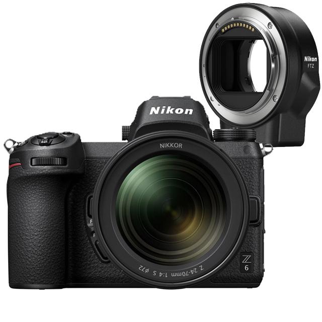 NIKON Z6+FTZ轉接環+Nikkor Z 24-70mm f/4 S 公司貨