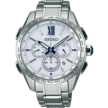 SEIKO Brightz 太陽能電波腕錶 SAGA223J