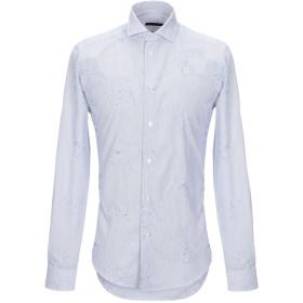 《セール開催中》BRIAN DALES メンズ シャツ ダークブルー 39 コットン 100%