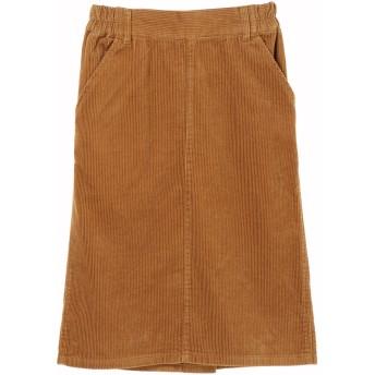 【6,000円(税込)以上のお買物で全国送料無料。】・コーデュロイタイトスカート