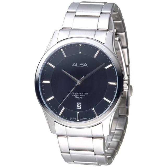 ALBA 君士坦時尚男錶-黑(AS9C21X1)