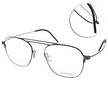 VYCOZ 眼鏡 金屬質感飛官款(黑) #MATO BLK