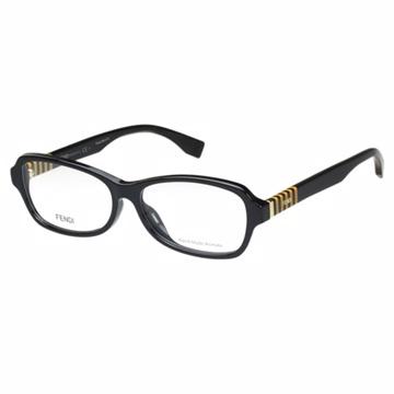 FENDI 時尚光學眼鏡 (黑色)FF1004