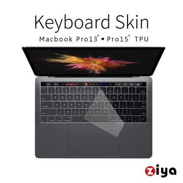 "[ZIYA] Macbook Pro13""/15"" Touch Bar 鍵盤保護膜 超透明TPU材質 (一入)"