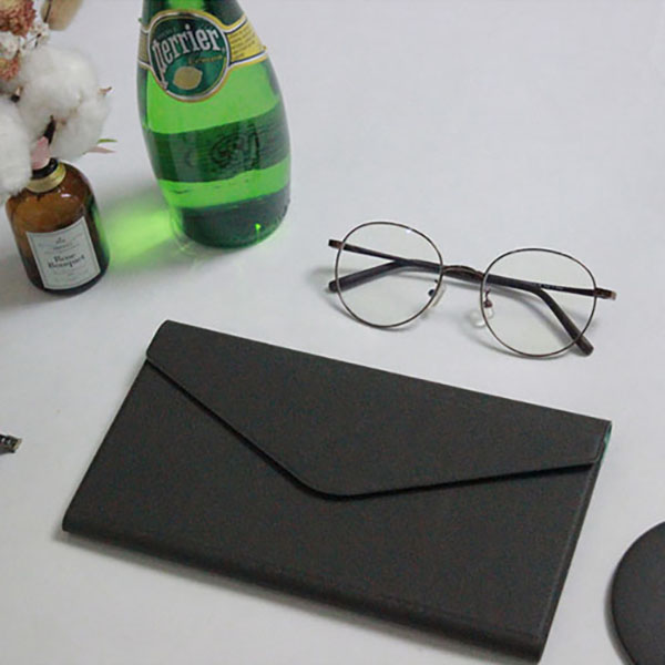 【FENICE】多功能鈔票式護照包 L size (深藍)