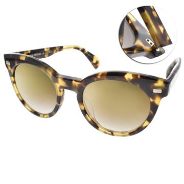 OLIVER PEOPLES太陽眼鏡 歐美時尚復古貓眼款(琥珀-黃水銀) #DORE 15506U