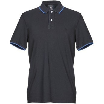 《セール開催中》IMPULSO メンズ ポロシャツ ダークブルー S コットン 100%