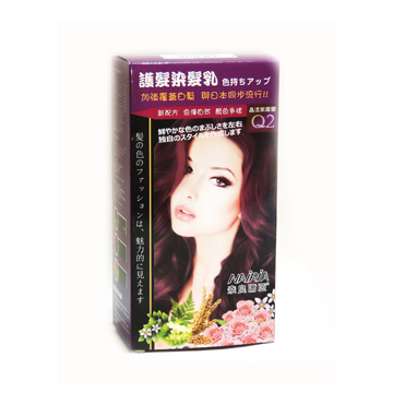 NAIRIA奈良彌亞 護髮染髮霜-Q2晶漾紫羅蘭