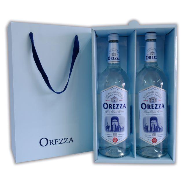 法國OREZZA天然氣泡礦泉水-經典禮盒