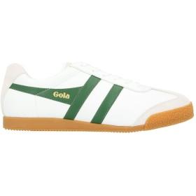 《セール開催中》GOLA メンズ スニーカー&テニスシューズ(ローカット) ホワイト 45 革