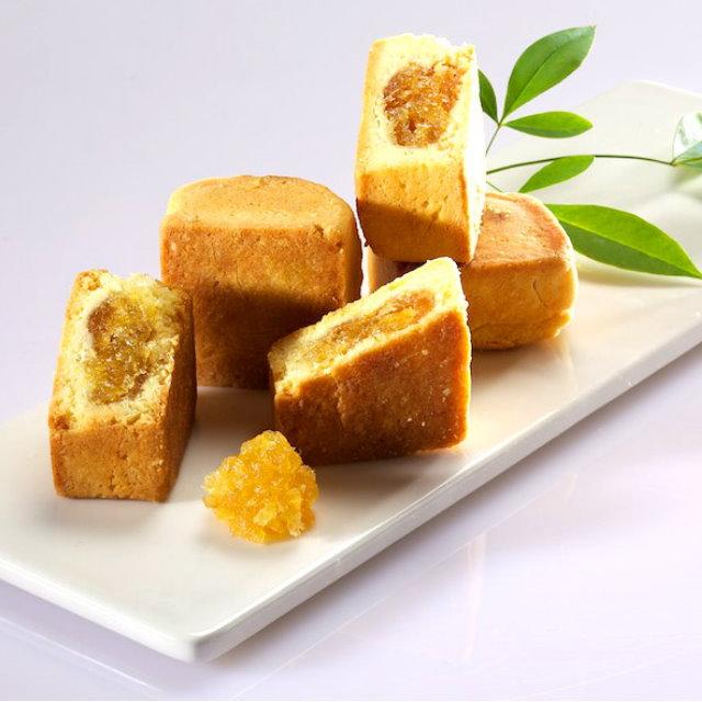 【漢坊月餅/糕餅】臻饌 綜合12入禮盒★鳳梨酥*6+土鳳梨酥*6(蛋奶素)共3盒