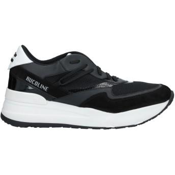 《セール開催中》RUCO LINE メンズ スニーカー&テニスシューズ(ローカット) ブラック 40 革 / 紡績繊維