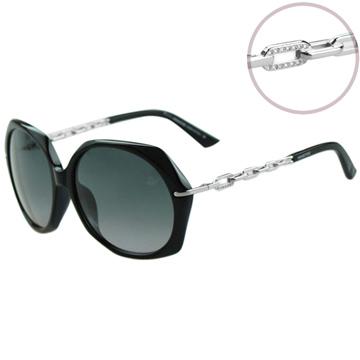 SWAROVSKI-時尚太陽眼鏡(黑色)SW9031