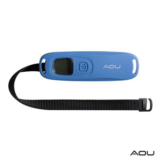 AOU 多功能行李秤 口袋型方便收納(牛仔藍)66-052