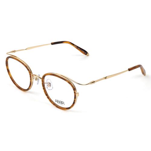 ABBR 北歐瑞典經典系列硬鋁合金光學眼鏡(琥珀) CL-01-001B-Z19