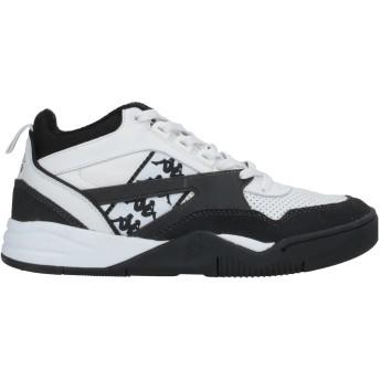 《セール開催中》KAPPA メンズ スニーカー&テニスシューズ(ローカット) ブラック 40 革 / 紡績繊維