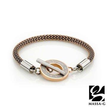 MASSA-G Titan 玫瑰魅力 4mm 超合金鍺鈦手環