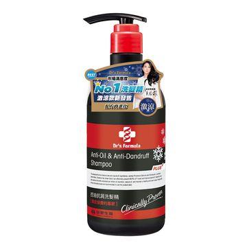 台塑生醫 Dr's Formula控油抗屑洗髮精升級版 激涼款 580g